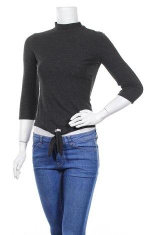 Дамска блуза Bershka, Размер M, Цвят Сив, Цена 3,00лв.
