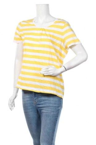 Дамска блуза Biaggini, Размер XL, Цвят Жълт, Памук, Цена 17,01лв.