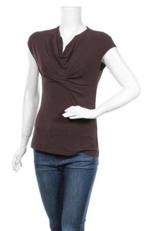 Γυναικεία μπλούζα Blacky Dress, Μέγεθος M, Χρώμα Καφέ, 75% ασετάτ, 20% πολυαμίδη, 5% ελαστάνη, Τιμή 4,68€