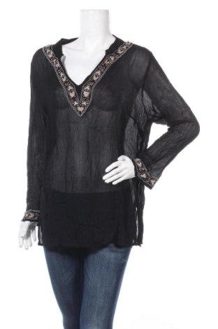 Дамска блуза Bon'a Parte, Размер XL, Цвят Черен, Цена 16,54лв.