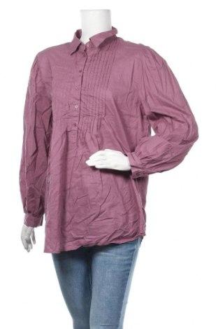 Дамска блуза Boule..., Размер L, Цвят Лилав, Памук, Цена 10,40лв.