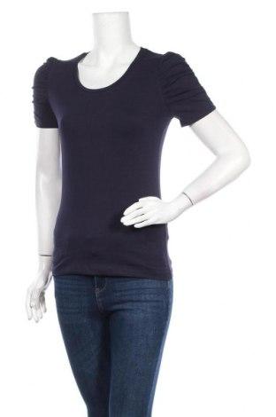 Дамска блуза Boule..., Размер S, Цвят Син, 92% памук, 8% еластан, Цена 13,39лв.