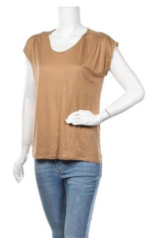 Дамска блуза Caroll, Размер S, Цвят Кафяв, Цена 18,48лв.