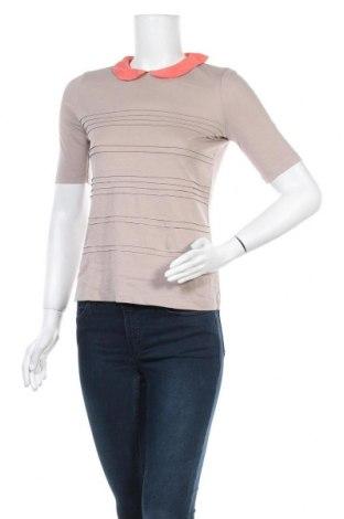 Дамска блуза Caroll, Размер S, Цвят Кафяв, Цена 13,60лв.