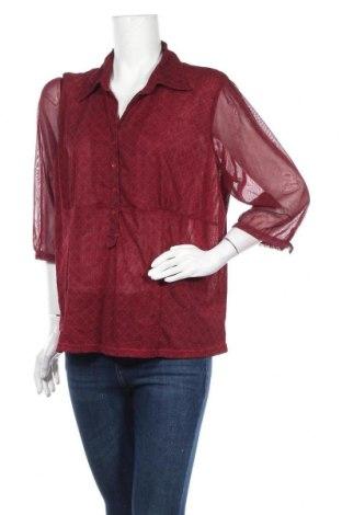 Дамска блуза Casa Blanca, Размер XXL, Цвят Червен, Полиестер, Цена 17,01лв.