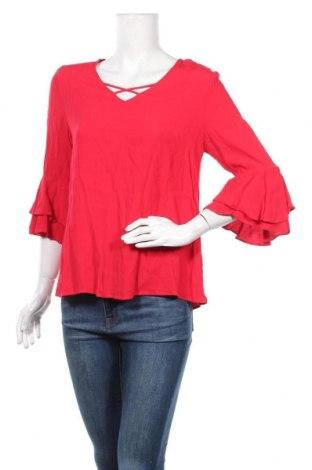Дамска блуза Cellbes, Размер M, Цвят Червен, Вискоза, Цена 17,01лв.