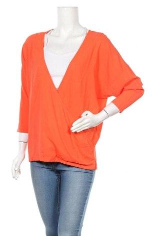 Дамска блуза Chacok, Размер L, Цвят Оранжев, 96% вискоза, 4% еластан, Цена 13,25лв.