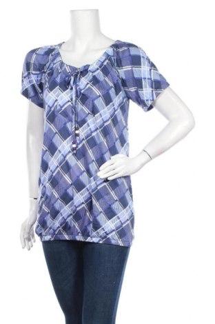 Дамска блуза Cheer, Размер L, Цвят Син, Вискоза, Цена 11,34лв.