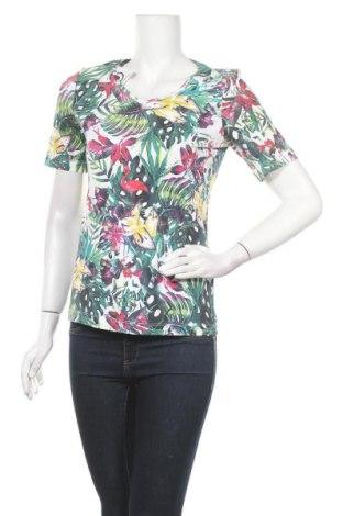 Дамска блуза Christian Berg, Размер S, Цвят Многоцветен, 95% памук, 5% еластан, Цена 16,34лв.