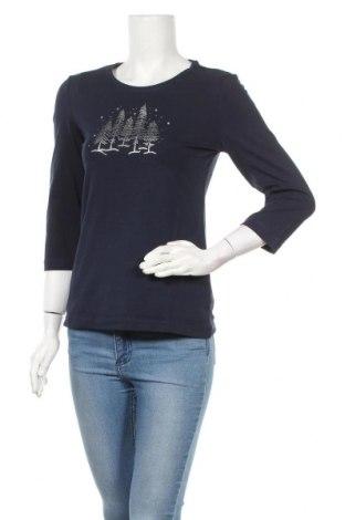 Дамска блуза Christian Berg, Размер XS, Цвят Син, 95% памук, 5% еластан, Цена 14,52лв.