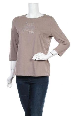 Γυναικεία μπλούζα Christian Berg, Μέγεθος L, Χρώμα  Μπέζ, 95% βαμβάκι, 5% ελαστάνη, Τιμή 1,59€