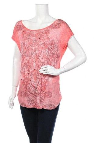 Γυναικεία μπλούζα Comma,, Μέγεθος XL, Χρώμα Πορτοκαλί, Βισκόζη, Τιμή 18,70€