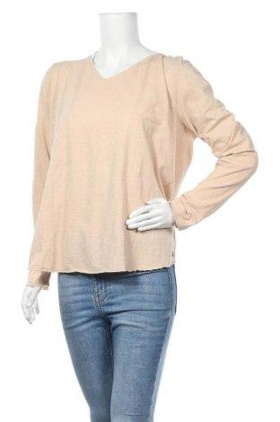 Γυναικεία μπλούζα Cream, Μέγεθος XXL, Χρώμα  Μπέζ, 100% βαμβάκι, Τιμή 11,84€