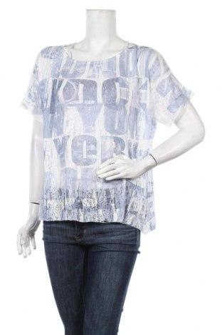 Дамска блуза Designer S, Размер L, Цвят Син, 65% полиестер, 35% вискоза, Цена 4,56лв.