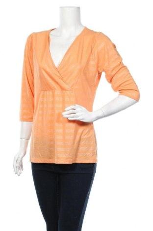 Γυναικεία μπλούζα Essentiel, Μέγεθος L, Χρώμα Πορτοκαλί, 65% πολυεστέρας, 354% βισκόζη, Τιμή 7,27€
