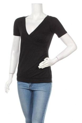 Γυναικεία μπλούζα Essentiel, Μέγεθος S, Χρώμα Μαύρο, 95% βισκόζη, 5% ελαστάνη, Τιμή 13,41€