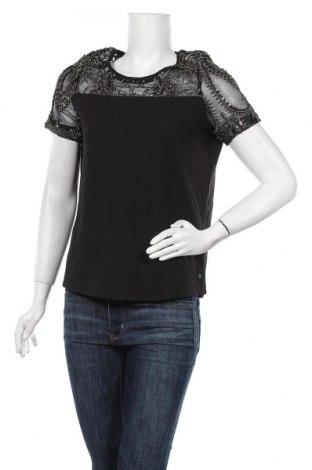 Дамска блуза Garcia Jeans, Размер M, Цвят Черен, Полиамид, Цена 15,96лв.