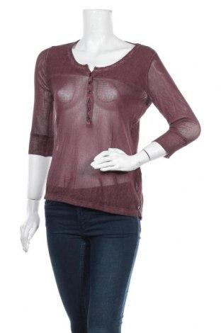Дамска блуза Garcia Jeans, Размер S, Цвят Кафяв, Памук, Цена 4,99лв.