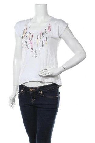 Дамска блуза Gerard Darel, Размер S, Цвят Бял, 70% коприна, 30% памук, Цена 30,35лв.