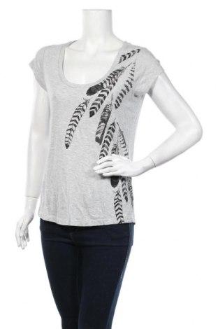 Дамска блуза H&M L.O.G.G., Размер S, Цвят Сив, 95% вискоза, 5% еластан, Цена 11,03лв.