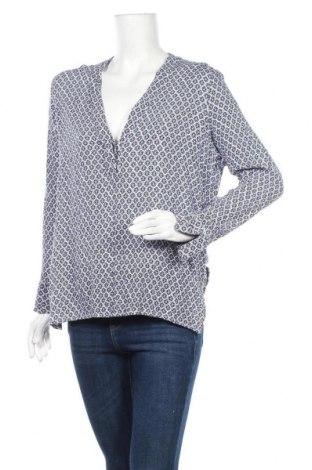 Дамска блуза H&M L.O.G.G., Размер L, Цвят Син, Вискоза, Цена 10,71лв.