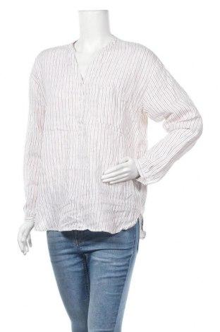 Γυναικεία μπλούζα Hallhuber, Μέγεθος M, Χρώμα Λευκό, Λινό, Τιμή 7,27€