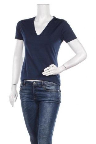 Дамска блуза Hennes, Размер M, Цвят Син, 92% полиестер, 8% еластан, Цена 15,96лв.