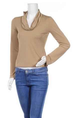 Дамска блуза Hennes, Размер S, Цвят Бежов, Полиестер, Цена 4,99лв.