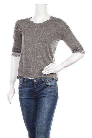 Дамска блуза Khujo, Размер S, Цвят Сив, Цена 25,94лв.