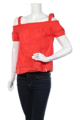Дамска блуза Khujo, Размер S, Цвят Червен, Цена 23,52лв.
