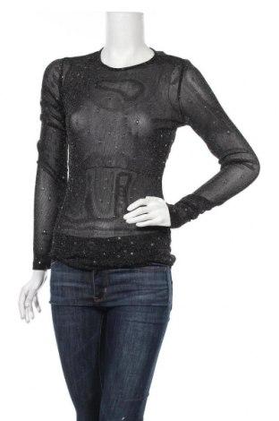 Дамска блуза Lofty Manner, Размер S, Цвят Черен, 90% полиестер, 10% еластан, Цена 3,00лв.