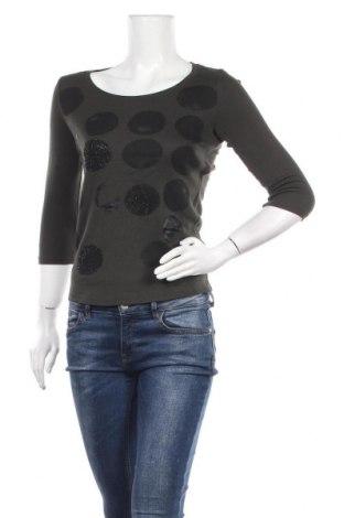 Γυναικεία μπλούζα Margittes, Μέγεθος S, Χρώμα Πράσινο, 50% βαμβάκι, 50% μοντάλ, Τιμή 8,64€