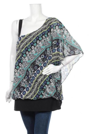 Дамска блуза Maurices, Размер L, Цвят Многоцветен, Полиестер, Цена 3,94лв.