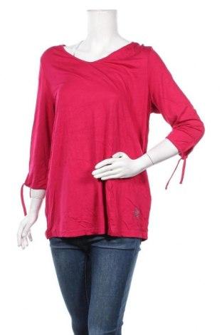 Γυναικεία μπλούζα Mia Moda, Μέγεθος XL, Χρώμα Ρόζ , 95% βισκόζη, 5% ελαστάνη, Τιμή 5,52€