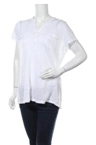 Γυναικεία μπλούζα Monari, Μέγεθος XL, Χρώμα Λευκό, Τιμή 22,73€