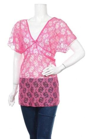 Дамска блуза Moon Girl, Размер M, Цвят Розов, Полиестер, Цена 8,87лв.