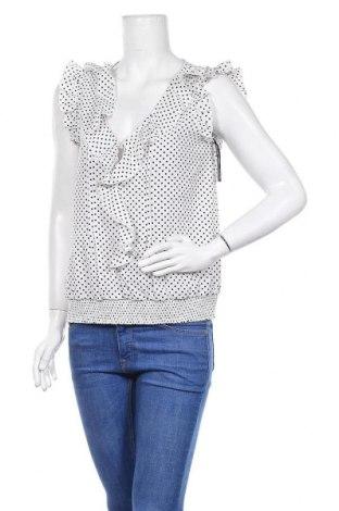 Γυναικείο αμάνικο μπλουζάκι Morgan, Μέγεθος L, Χρώμα Λευκό, Πολυεστέρας, Τιμή 8,83€