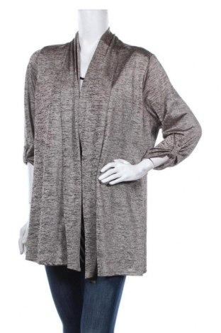 Дамска блуза Ms Mode, Размер XL, Цвят Бежов, 95% полиестер, 5% еластан, Цена 13,23лв.