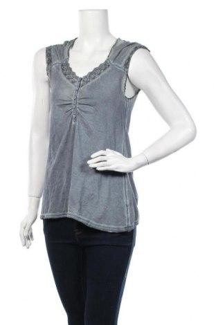Дамска блуза Nile, Размер M, Цвят Сив, 95% памук, 5% еластан, Цена 35,91лв.