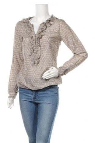 Дамска блуза Nile, Размер M, Цвят Бежов, 70% памук, 30% коприна, Цена 39,20лв.