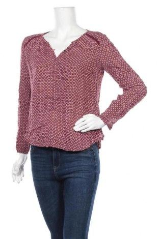 Дамска блуза Nile, Размер XS, Цвят Червен, 60% памук, 40% вискоза, Цена 30,24лв.