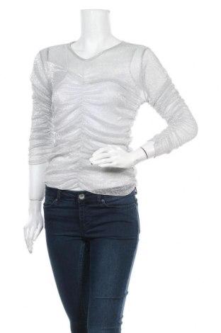 Γυναικεία μπλούζα Nuna Lie, Μέγεθος S, Χρώμα Ασημί, Τιμή 4,09€