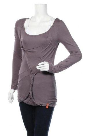 Дамска блуза Object, Размер M, Цвят Лилав, Вискоза, Цена 3,00лв.
