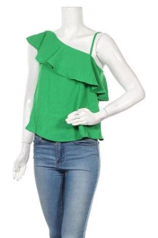 Γυναικεία μπλούζα Pink Woman, Μέγεθος S, Χρώμα Πράσινο, 97% πολυεστέρας, 3% ελαστάνη, Τιμή 10,39€
