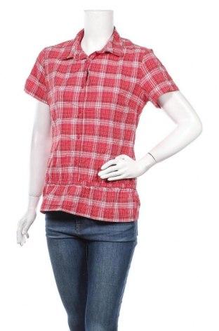 Дамска блуза Salomon, Размер M, Цвят Червен, 51% полиестер, 49% полиамид, Цена 31,08лв.