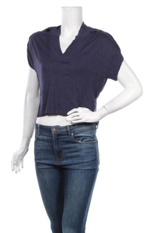 Дамска блуза Sandwich_, Размер S, Цвят Син, 89% вискоза, 11% полиамид, Цена 14,22лв.