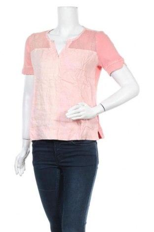 Дамска блуза Sandwich_, Размер M, Цвят Розов, Лен, Цена 59,25лв.
