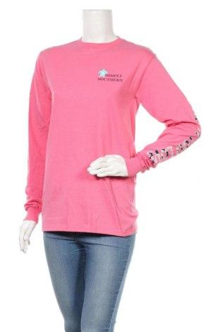 Γυναικεία μπλούζα Simply Southern, Μέγεθος S, Χρώμα Ρόζ , Βαμβάκι, Τιμή 5,67€