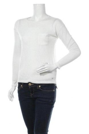 Дамска блуза Sinsay, Размер M, Цвят Бял, 90% полиестер, 10% лен, Цена 5,59лв.