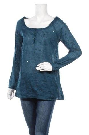Дамска блуза Soaked In Luxury, Размер L, Цвят Син, Памук, Цена 11,81лв.